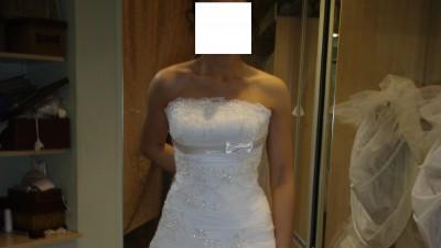 Sprzedam suknię ślubną Papa Michael Eos, rozm. 36/38