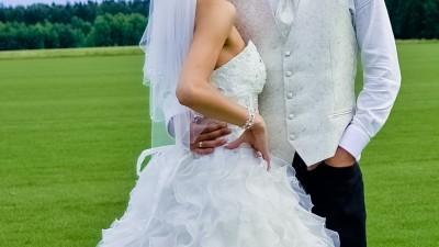 SPRZEDAM Suknie Ślubną Piękna Kreacja Żanett rozmiar 38