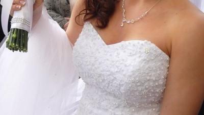 Sprzedam suknię ślubną princess Księżniczka 36/38