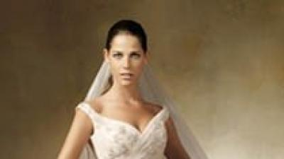 Sprzedam suknię ślubną PRONOVIAS 2007 LAGAR ŚMIETANKOWA ORYGINALNA SUKNIA MARZEŃ