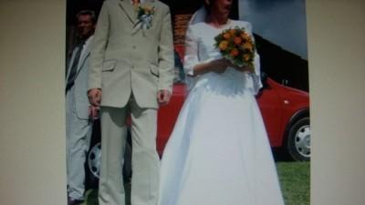 Sprzedam suknię ślubną roz.38 +dodatki