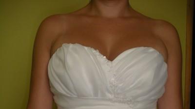 Sprzedam suknię ślubną rozm.36 szytą według oryginalnego projektu