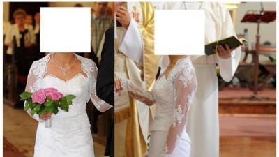 Sprzedam Suknię Ślubną Rozmiar 34/36 156