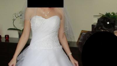 Sprzedam suknię ślubną- rozmiar 36