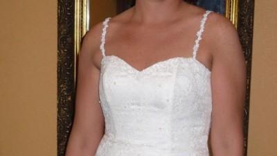 Sprzedam suknię ślubną; rozmiar 38