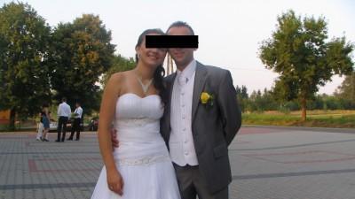 Sprzedam suknie ślubną rozmiar 38