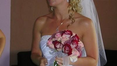 Sprzedam suknię ślubną rozmiar 38 biała SANTANA