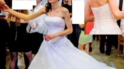 Sprzedam suknię ślubną Sincerity 3637 rozmiar 34