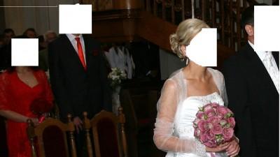 Sprzedam suknie ślubną styl amerykański