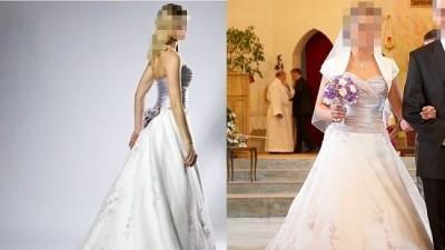 Sprzedam suknię ślubną szwedzkiej firmy ASPERA w atrakcyjnej cenie