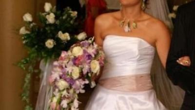 Sprzedam suknię ślubną szytą na wzór suknii Montebelluna firmy  Margarett