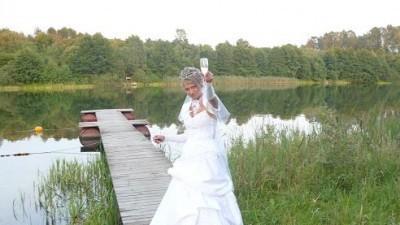 sprzedam suknię ślubną TANIO z wszystkimi dodatkami