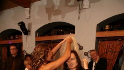 Sprzedam suknię ślubną w kolorze CAPPUCCINO
