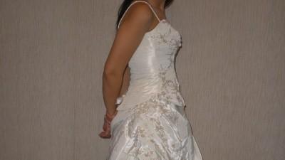 Sprzedam suknie ślubną w kolorze ecru