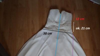 Sprzedam suknię ślubną w stylu empire, skromna i elegancka (kolor ivory)