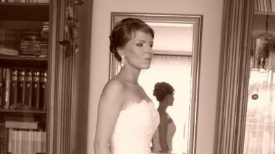 sprzedam suknię ślubną white one model 176 rozmiar w PL 38/176+6cm obcas=182cm
