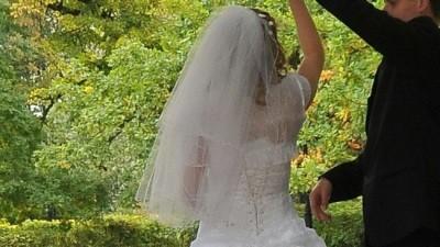 Sprzedam suknię ślubną z bolerkiem, welonem i halką
