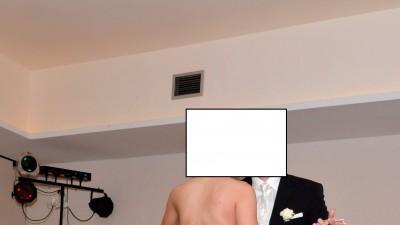 Sprzedam suknię ślubną z jedwabiu Justina Aleksandra 36/38 na 183cm