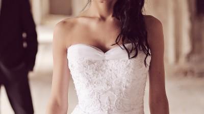 Sprzedam suknię ślubną z kolekcji Mon Cheri XS-S