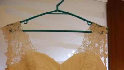 Sprzedam suknię ślubną z muślinu ecri