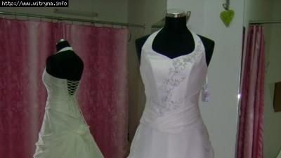 Sprzedam tanio piękną białą suknię ślubną