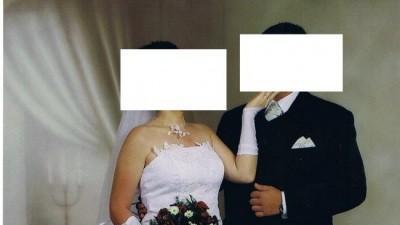 Sprzedam tanio piękną suknie ślubną