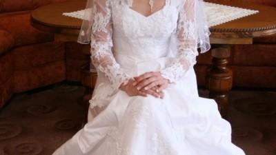 Sprzedam tanio przepiękną suknię ślubną