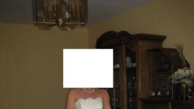 Sprzedam tanio śliczną suknię ślubną - 800 zł