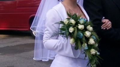 Sprzedam tanio śliczna suknię ślubną.POLECAM