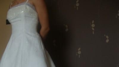 SPRZEDAM TANIO Suknia Ślubna