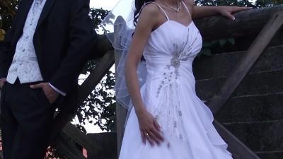 Sprzedam TANIO suknię ślubną!