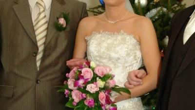Sprzedam tanio suknie  ślubna z Farage
