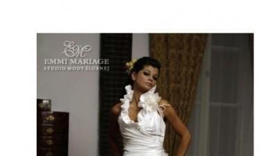 Sprzedam tanio suknię ślubną z kolekcji Emmi Mariage model Reem