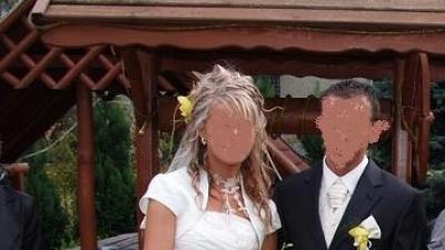 Sprzedam uroczą suknie ślubną.