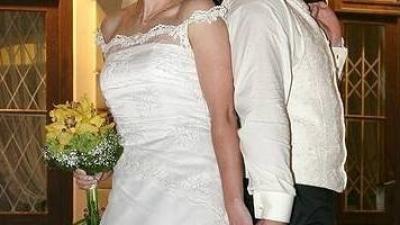 sprzedam uroczą  suknię ślubną