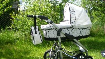 Sprzedam wielofunkcyjny śliczny wózeczek implast bolder 3