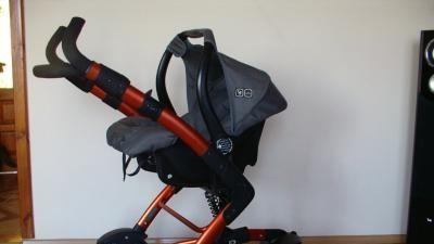 Sprzedam wózek ABC Design 3 TEC