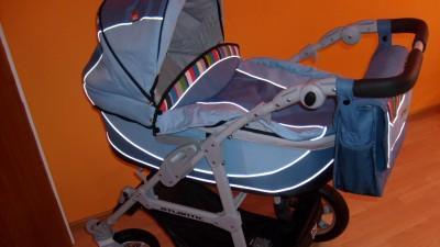 Sprzedam wózek Atlantic niebieski