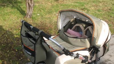 sprzedam wózek bliźniaczy