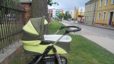 Sprzedam wózek dziecięcy wielofunkcyjny-Merc Q7.