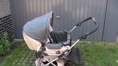sprzedam wózek Emmaljunga dla bliźniąt