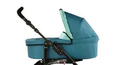 SPRZEDAM WÓZEK GŁĘBOKO SPACEROWY BABY ACTIV JET - TURKUSOWY