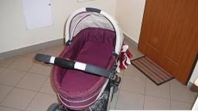 sprzedam wózek głęboko-spacerowy baby welt moon 4
