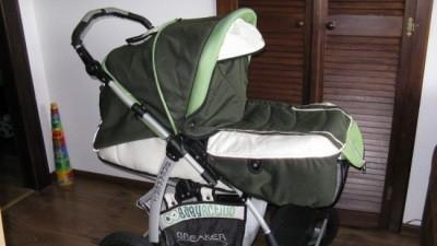 Sprzedam Wózek głęboko-spacerowy BABYDESIGN Breaker