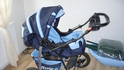 Sprzedam wózek głęboko-spacerowy + fotelik