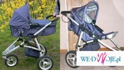Sprzedam wózek Quinny oraz fotelik samochodowy maxi cosi