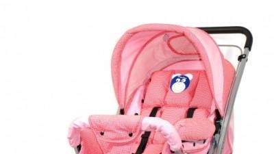 Sprzedam wózek spacerówka dla dziewczynki w kolorze różowym.