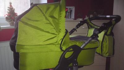 Sprzedam wózek Tako Jamper X  wielofunkcyjny kolor zielono czarny