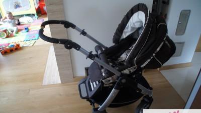 sprzedam wózek TEUTONIA COSMO 10(jeszcze 2 lata gwarancji)