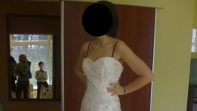 sprzedam wyjątkową suknię dla wyjątkowej panny młodej